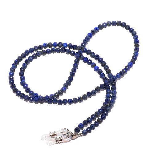 Cordon Lunettes Porte-Lunette Pierres Naturelles RC-Lapis Lazuli 5mm