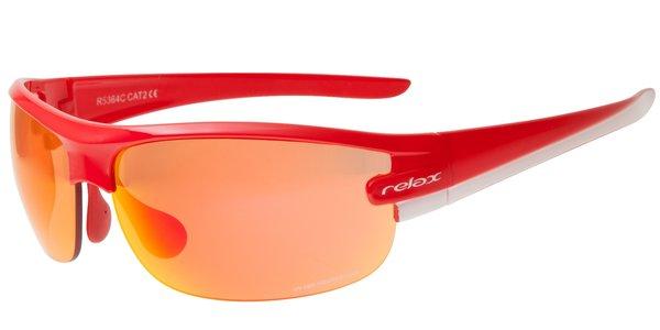 Relax Gafas De Sol Deportivas Mujer Anteojos Para El Sol R5364c Rojo