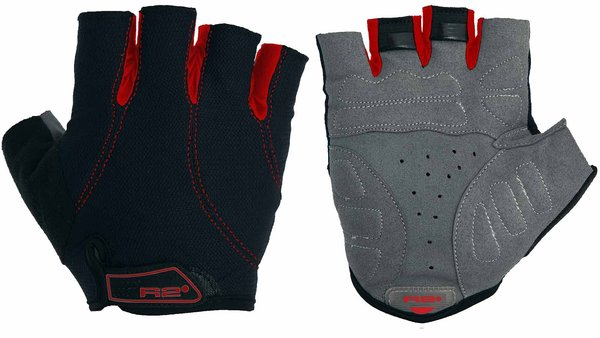 RELAX R2 Pro Gel Cycling Gloves Breathable Half Finger Gloves for Biking Sports ATR15B/XL