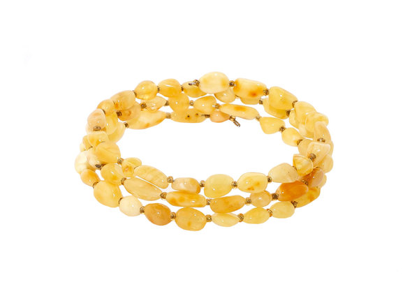 Authentic Baltic Amber Beads Multilayer Bracelet Genuine Amber Jewelry BA10000702