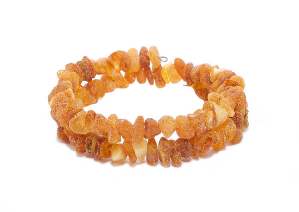 Authentic Baltic Amber Beads Multilayer Bracelet Genuine Amber  Jewelry BA15000202