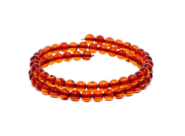 Authentic Baltic Amber Beads Multilayer Bracelet Genuine Amber  Jewelry BA08177702