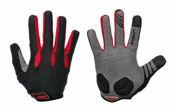 RELAX R2 Pro Gel Cycling Gloves Touchscreen Full Finger Winter Warm Bike Gloves ATR17B/XL