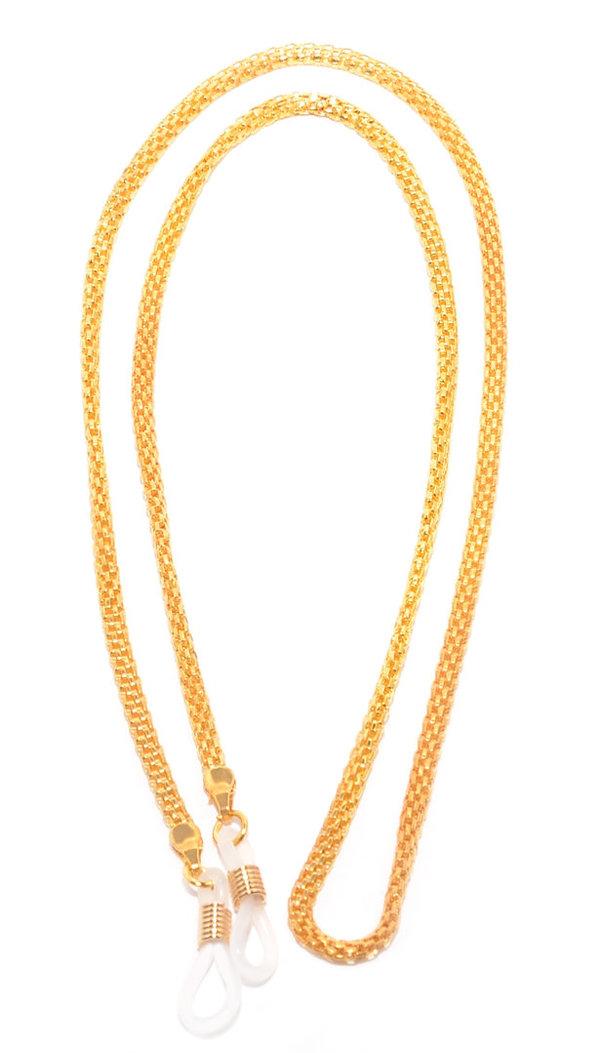 a490b4a8ef39ef Rainbow Chaîne pour Lunettes Cordon Lunettes Porte-Lunettes de Soleil   RC01  RC01-GOLD